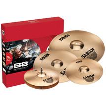 SABIAN B8X 45003XG Performer Cymbal  4 piece Set