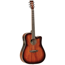 Tanglewood TW5KOA Winterleaf Dreadnought Acoustic/Electric Guitar -  Koa