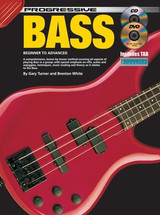 Progressive Bass Guitar Book CD/DVD