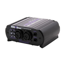 ART Dual X Direct Dual Channel Active DI Box