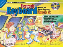 Progressive Young Beginner Keyboard Book 2 & CD