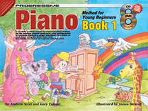 Progressive Young Beginner Piano Book 1 & CD