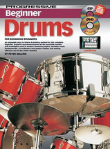 Progressive Drum Method Book - Beginner CD/DVD