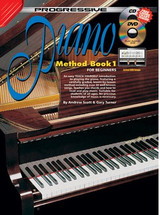 Progressive Piano Method Book 1 CD/DVD
