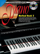 Progressive Piano Method Book 2 CD