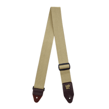 Ernie Ball Tweed Guitar Strap/Brown Leather Ends