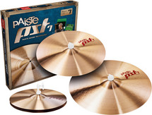"PAISTE PST7 Session Cymbal Pack with BONUS 18"" Crash Cymbal"