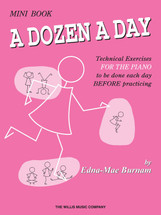 DOZEN A DAY  Mini Book - Piano Technical Workbook
