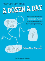 DOZEN A DAY Prepatory - Piano Tech Workbook