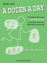 DOZEN A DAY Prepatory - Book 1  Piano Tech Workbook