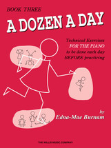 DOZEN A DAY Book 3 - Piano Tech Work book