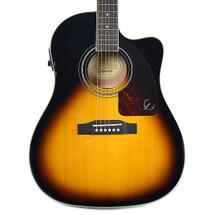 Epiphone AJ220SCE Acoustic/Electric Guitar - Vintage Burst/Mahogany Burst