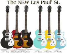 Epiphone Les Paul SL Electric Guitar - Great new finishes!