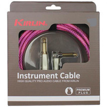 KIRLIN WAVE 20ft Braided Instrument in gift box - pink/purple/black/red/gold