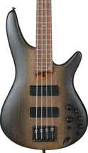 Ibanez SR500E 4 String Electric Bass - Surreal Black Dual Fade/Brown Mahogany