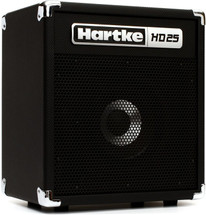 Hartke HD25 Bass Guitar Combo Amplifier - 25 Watts