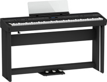 Roland FP90X Digital Piano on Stand,Bench with DP10 Sustain Pedal - Black or White