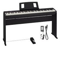 Roland FP10 Digital Portable PIano on Stand