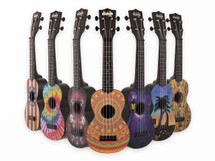 Makala Ukadelic Soprano Ukulele Series - Great designs