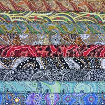 Australian Art Ukulele Rag Straps - Australian Made -  Various Designs