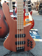 Cole Clark - Made in Australia - 4 String Electric Bass Guitar in Bag - Redwood