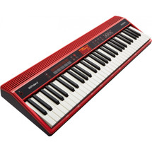 Roland GO61K Portable 61 Note Piano Keyboard with Bluetooth - Red or Black