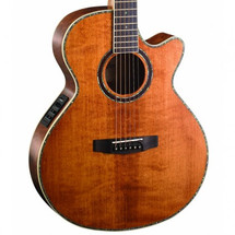 CORT SFK10 Antique Brown Finish - Solid Top Folk Body Acoustic/Electric Guitar