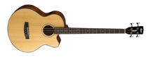 CORT AB850F Acoustic/Electric Bass - Natural Gloss in Gig Bag