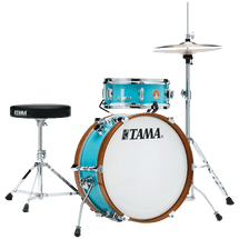 TAMA CLUB Mini JAM Drum Kit - Aqua/Met. Charcoal/Black