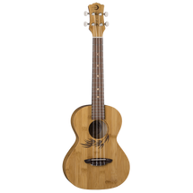 LUNA Bamboo Ukulele - Tenor in Gig Bag