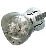 Bourbon Street O Style Resonator with pickup and Hardcase