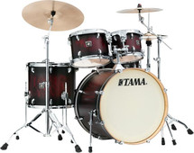 TAMA Superstar Classic Maple Drum Kit - Garnet Burst Lacebark Pine