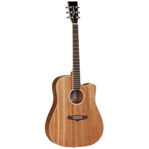 "Tanglewood ""Union Series"" Dreadnought Acoustic Electric Guitar with LIGHTWEIGHT CASE PACK"