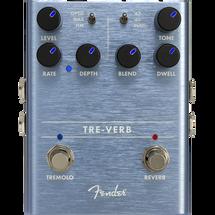 "Fender ""Tre-verb"" Tremolo/Reverb FX Pedal"