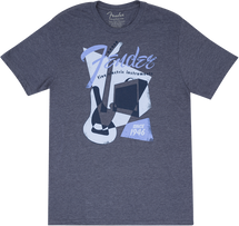 "Fendet T SHIRT Blue  ""Fender GEO 1946"" - Assorted Sizes"