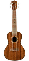 Lanikai Mahogany Series All Solid Concert Ukulele in Natural Satin Finish with Lanikai Polyfoam Case