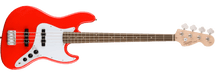Fender Squier Affinity JAZZ 4 String Bass - Red/Silver/Black/Sunburst