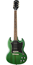 Epiphone SG Classic Worn P90 Electric - Green or Cherry