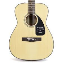 Fender CF60 Folk Size Acoustic Guitar - ONE ONLY - Spruce