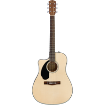 Fender Acoustic/Electric Spruce Top Guitar - LEFT HAND