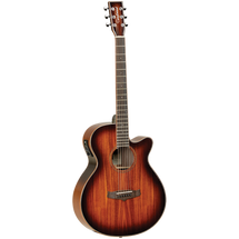 Tanglewood Winterleaf Series Koa Super Folk Acoustic/Electric Guitar