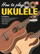 Progressive How to Play Ukulele CD/DVD/BOOK pack