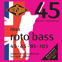 Rotosound 4 String Bass String Sets