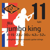 Rotosound Jumbo King Acoustic Guitar String Set