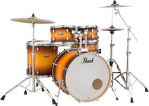 Pearl Decade Maple 22' Fusion Drum Shell Pack ONLY NO HARDWARE?CYMBALS - Classic Satin Amburst - 22/10/12/14/14x5.5 snare
