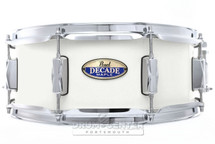 Pearl Decade Maple Snare Drum - 14 x 5.5 White Satin Pearl
