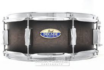 Pearl Decade Maple Snare Drum - 14 x 5.5 Black Burst