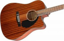 Fender CD60SCE Acoustic/Electric Guitar - Mahogany
