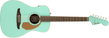 Fender Malibu Player Small Body Acoustic/Electric Guitar - Aqua/Natural/ Candy Apple Red/Midnight Satin/Sunburst/Artic Gold