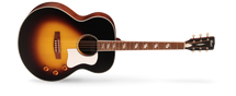 Cort CJ-Retro Vintage Sunburst Jumbo Acoustic/Electric Guitar in DELUXE GIG BAG